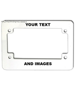 MOTORCYCLE LICENSE PLATE FRAME - $6.95