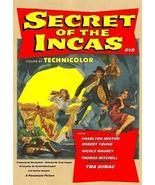 Secret Of The Incas 1954 DVD Charlton Heston - $9.00