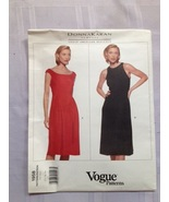 Vogue 1958 - dress pattern - Donna Karan - size 12, 14, 16 - £12.36 GBP