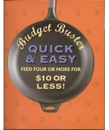 Budget Buster Quick & Easy Feed four or More Fo... - $7.00