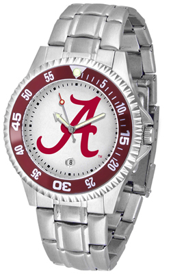 Alabama Crimson Tide Competitor Steel His/Hers watch