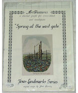 Spring at the West Gate, Texas Bluebonnets Cros... - $5.50
