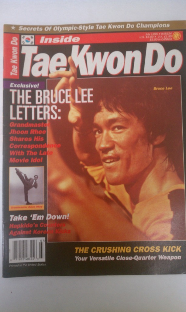 Inside Tae Kwon Do Magazine The Bruce Lee Letters July 1995