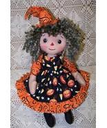 PDF~~Willow Witch~~Folk Art Doll Pattern Bz - $7.95