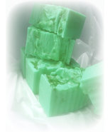 lemon and lime goats milk soap, lsoap, fruity s... - $4.75