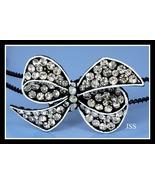 Swarovski Rhinestone Bow Black Crystal Headband - $12.95