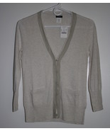 J Crew leigh chiffon pima cotton wool cardigan ... - $42.00