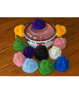 Pot Holder Beanie Hats For Lids Crochet - $4.97