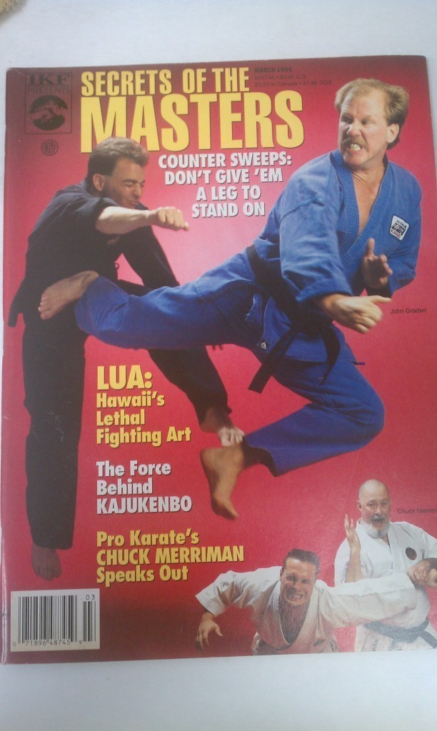 IKF Presents Secrets Of The Masters Magazine Kajukenbo John Graden March 1994