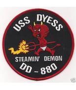 US Navy DD-880 USS Dyess Destroyer Patch - $9.99