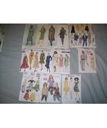 10 Vogue Patterns Calvin Klein Bill Blass Apron... - $14.41