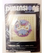 DIMENSIONS 7122 ROCKING LAMB Needlepoint Kit 5 ... - $4.50