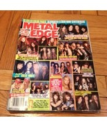 Metal Edge July 1991, Trixter, Slaughter, Bulle... - $9.99