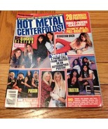 Movie Mirror Hot Metal Centerfolds, Bach, Slaug... - $9.99