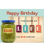 Unique Happy Birthday Card: Relish Life - $4.25