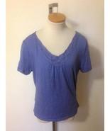 JM COLLECTION Wms Cornflower Blue Cotton Baby D... - $13.50