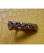 Men vintage gold tone leaves botanical design t... - $12.99