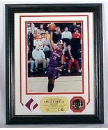VINCE CARTER, Game Used Jersey PHOTOMINT Displa... - $169.13