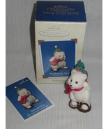 2003 Hallmark Snowshoe Taxi Ornament ~ 3rd in Snowball and Tuxedo Series