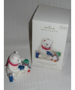 2008 Hallmark Cold Day, Warm Friends Ornament ~ #8 in Snowball and Tuxedo Series