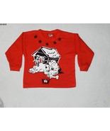 DISNEY 101 DALMATIONS sz 4 Toddler Red Shirt wi... - $7.99