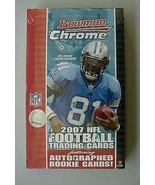 2007 Bowman CHROME NFL Football Factory Sealed ... - $86.23