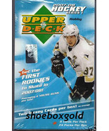 2007-08 UPPER DECK SERIES 1 HOCKEY,  FACTORY SE... - $86.89