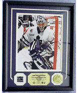 CURTIS JOSEPH, GAME USED STICK PHOTOMINT, 24Kt ... - $189.99