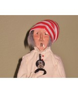 BYERS CHOICE UNUSUAL  SCROOGE ODD LABEL AND SIG... - $73.50