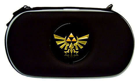 The Legend of Zelda Triforce Airform Sony PSP Case Bag
