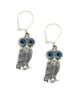 Goddess Athena's Wise Little Owl  - Sterling S... - $44.00