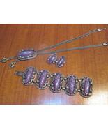 Vintage Jewelry Necklace, Earring & Bracelet Pu... - $80.00
