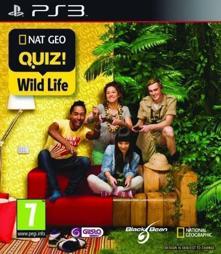 Nat Geo Challenge/NatGeo Quiz! Wild Life, PS3 game