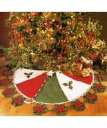 Y262 Crochet PATTERN ONLY Poinsettia Flair Chri... - $8.45
