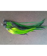 Owlita Style Whiting Grizzly Barred Black Green... - $50.00