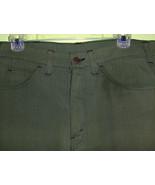 Rare 70's Vintage Army Green Levi's Denim Men's... - $18.00