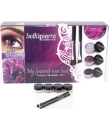 Bellapierre Get The Look Mineral Eye Kit Purple... - $42.99