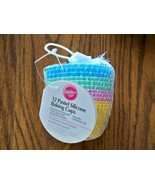 Wilton Silicone Baking Cups set of 12 Pastels - $10.99