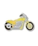Yellow Cancer Ribbon Troop Motorcycle Biker Pin... - $10.97