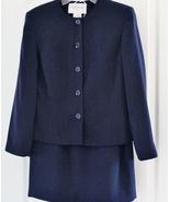 Jones New York Ladies Classic Navy Blue Suit Si... - $49.99