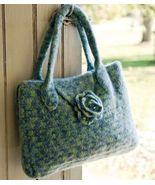 Y700 Crochet PATTERN ONLY Felted Flower Flap To... - $9.45