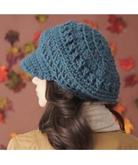 Slouchy Brimmed Newsboy Hat...custom made for a... - $35.00
