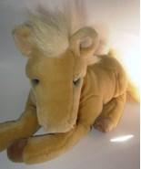 Dakin Lou Rankin Francesca Golden Horse Pony Pl... - $22.50