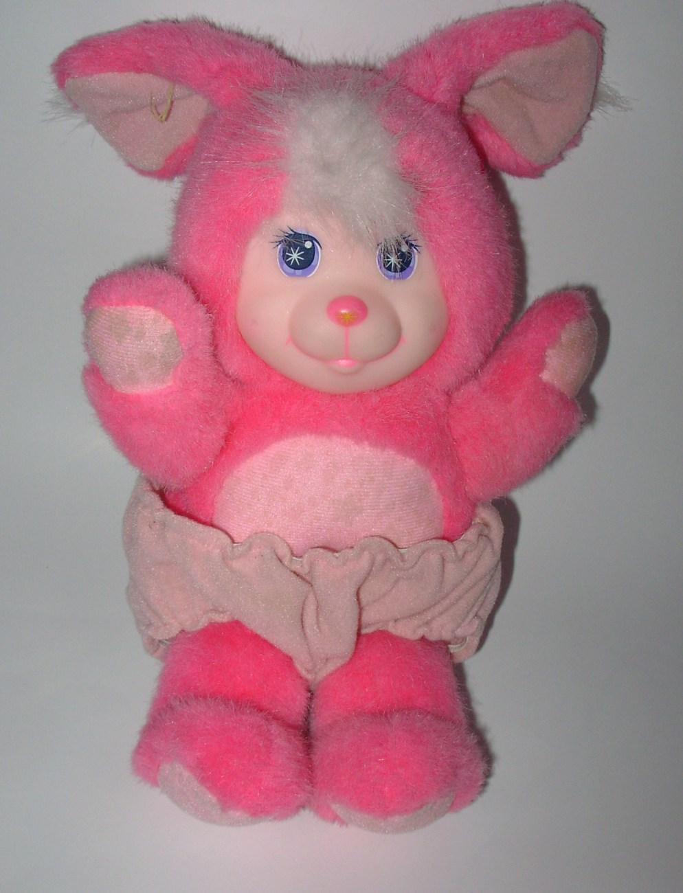 Mattel Magic Nursery Pet Pink Bunny Color Change Plush Stuffed Animal Vintage