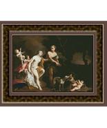 Venus and Adonis Amigoni, Cross Stitch Patterns - $39.00