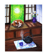 Beagle Dog Japanese Teahouse Tetsubin Teapot Ze... - $499.00