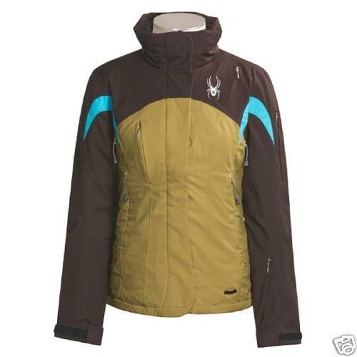 New SPYDER Womens 100g Thinsulate 10k Waterproof Ski Snowboard Jacket M 8 $370