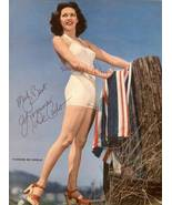 Yvonne DeCARLO Swimsuit Sexy LEGS Pin-Up Litho ... - $9.99