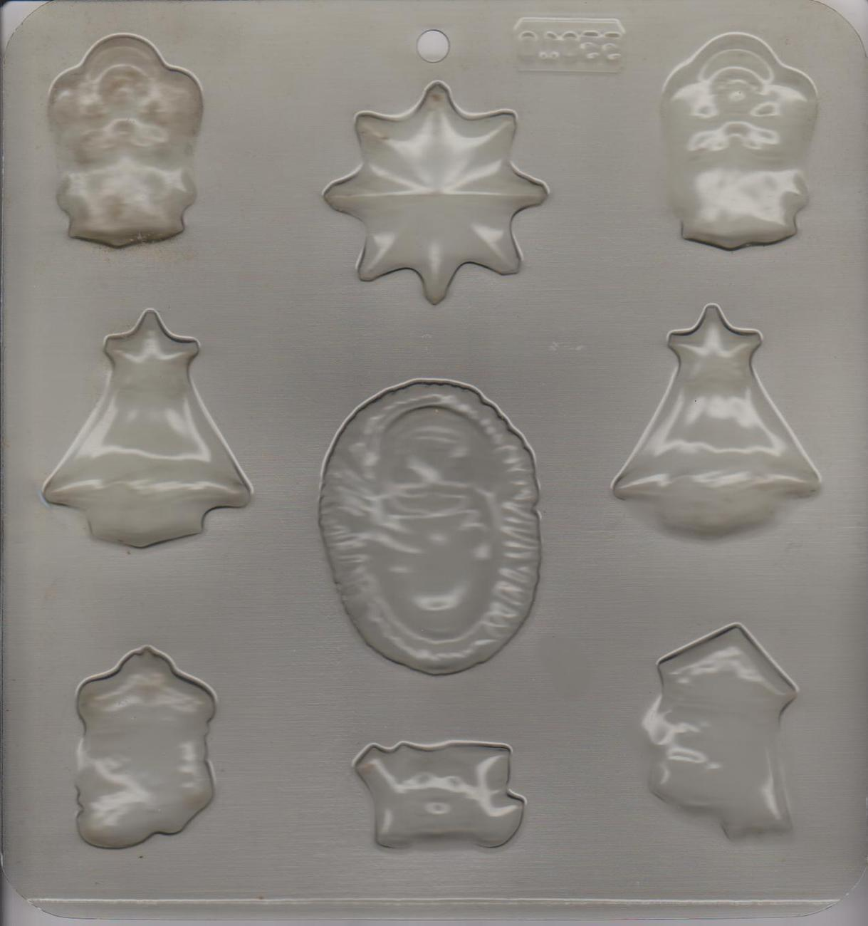 Christmas Angels, Joy, Nativity Candy Mold, New
