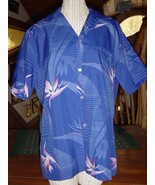 Made in Honolulu Hawaii Hawaiian Shirt Bird of ... - $5.99